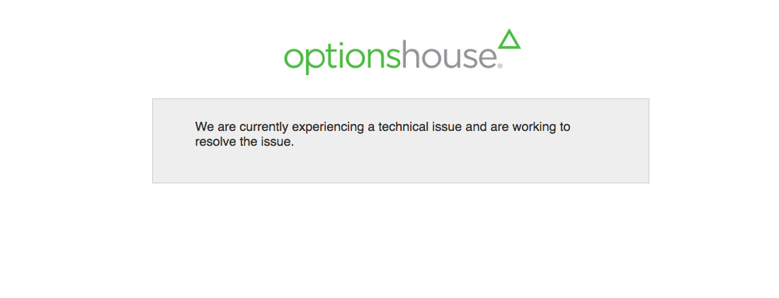 OptionsHouse stock brokerage review - slightly less features